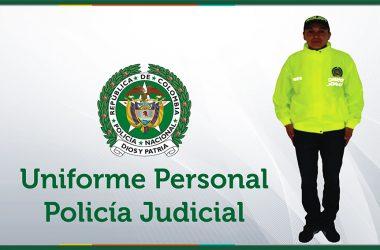 uniforme policia judicial