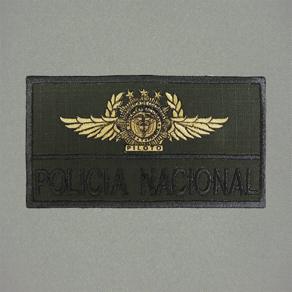 bordado policia piloto