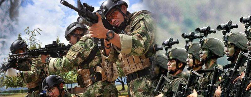 uniformes para las fuerzas militares de colombia
